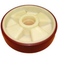 Steer Wheel Poly On Nylon Centre